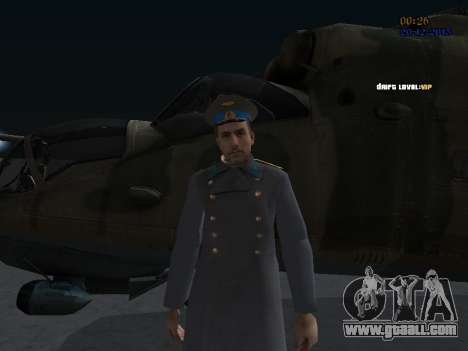 Colonel General of the Soviet air force for GTA San Andreas third screenshot