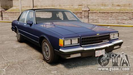 Chevrolet Caprice Brougham 1986 for GTA 4