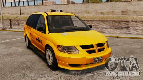 Dodge Grand Caravan 2005 Taxi NYC for GTA 4