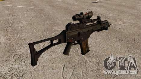 Automatic HK G36C v3 for GTA 4 second screenshot