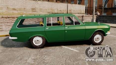 Gaz-24-02 Volga for GTA 4 left view