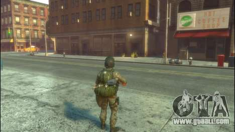 A Russian soldier v1.0 for GTA 4 second screenshot