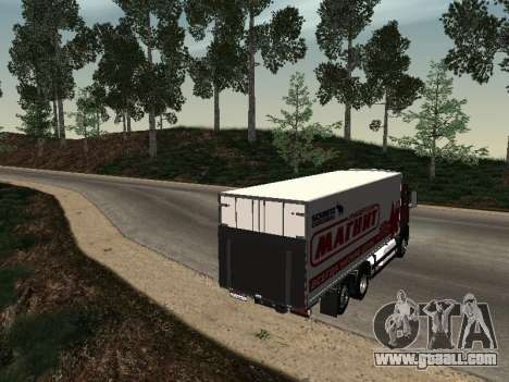 MAN TGA 26350 Magnet for GTA San Andreas back left view