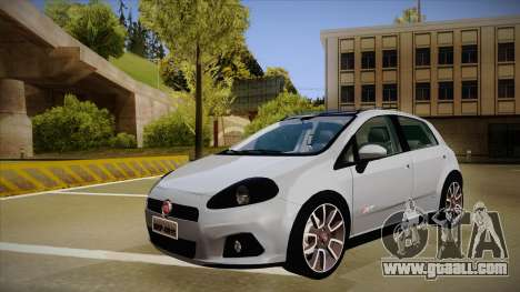 FIAT Punto T-Jet 2009 for GTA San Andreas