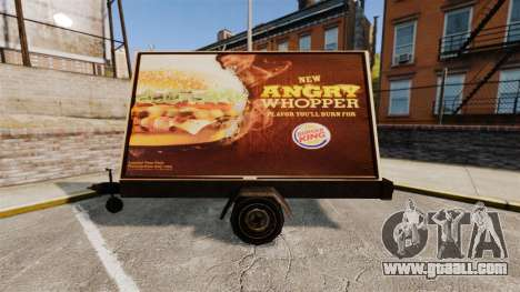 The new advertising on wheels for GTA 4 second screenshot