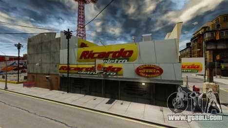 Brazilian stores for GTA 4 second screenshot