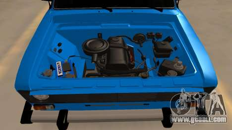 Vaz 2106 for GTA San Andreas inner view