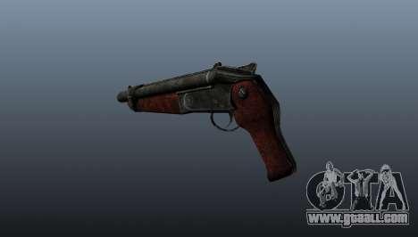 Sawed-off shotgun v2 for GTA 4 second screenshot