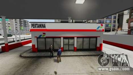 Pertamina GAS STATION for GTA 4 forth screenshot