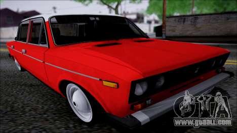 VAZ 2106 Retro for GTA San Andreas back view