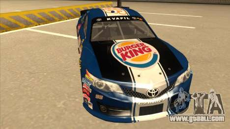 Toyota Camry NASCAR No. 93 Burger King Dr Pepper for GTA San Andreas left view