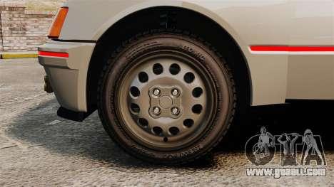 Peugeot 205 Turbo 16 for GTA 4 back view