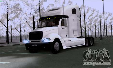 Freightliner Columbia for GTA San Andreas left view