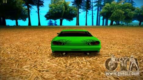 Paintjobs EQG Version for Elegy for GTA San Andreas forth screenshot