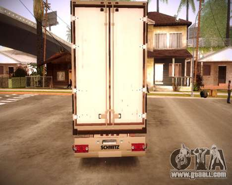 Reefer Baltic for GTA San Andreas inner view