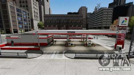 Pertamina GAS STATION for GTA 4 second screenshot