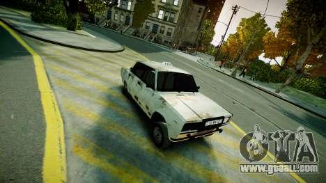 VAZ 2107 for GTA 4