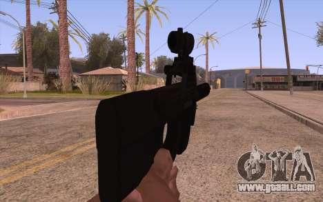 P90 AEG with flashlight for GTA San Andreas third screenshot