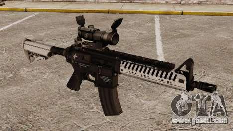 Automatic carbine M4 VLTOR v6 for GTA 4