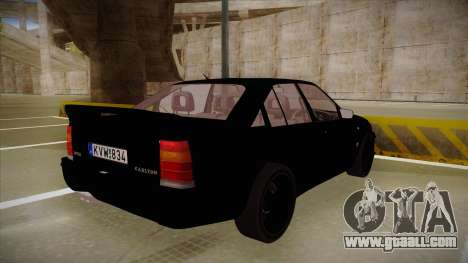 Lotus Carlton for GTA San Andreas right view
