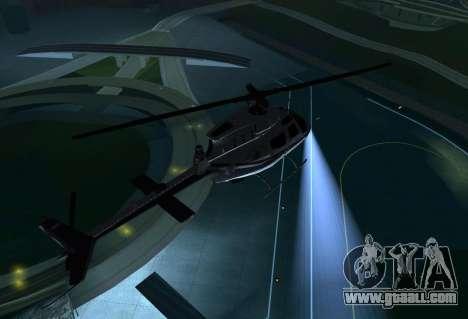 OH-58 Kiowa Police for GTA San Andreas right view