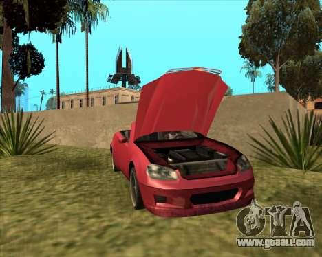 Feltzer Benefactor of GTA 4 for GTA San Andreas back left view