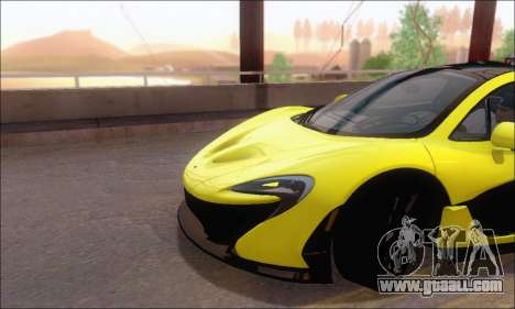 McLaren P1 EPM for GTA San Andreas side view