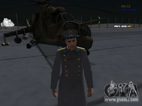Colonel General of the Soviet air force for GTA San Andreas forth screenshot