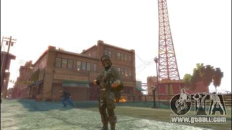 A Russian soldier v1.0 for GTA 4 third screenshot