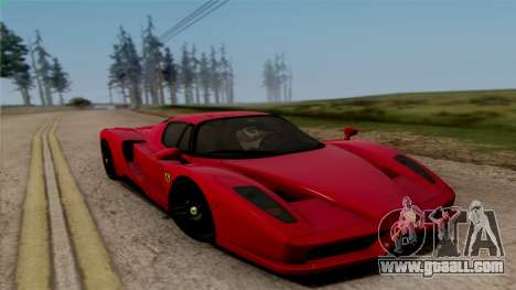 Ferrari Enzo 2002 for GTA San Andreas right view