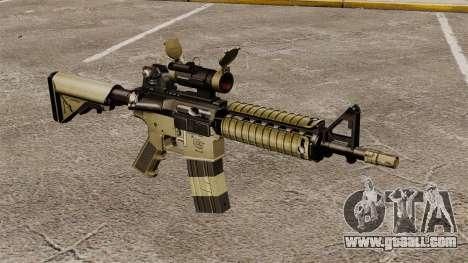 Automatic carbine M4 CQBR v1 for GTA 4