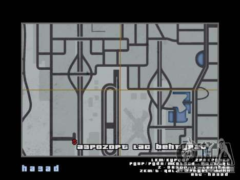 Map in the style of GTA 5 for GTA San Andreas fifth screenshot