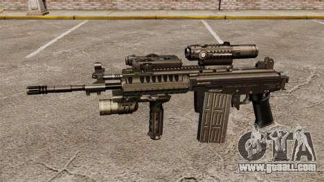 Automatic rifle Galil for GTA 4 third screenshot