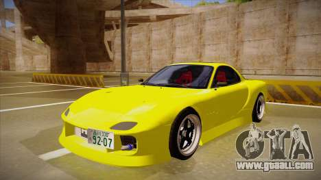 Mazda FD3S BN Sports for GTA San Andreas