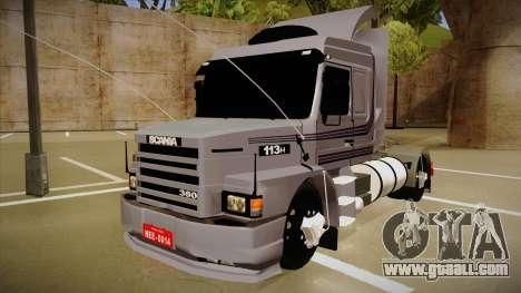 Scania 113H Top Line Neee Edit for GTA San Andreas