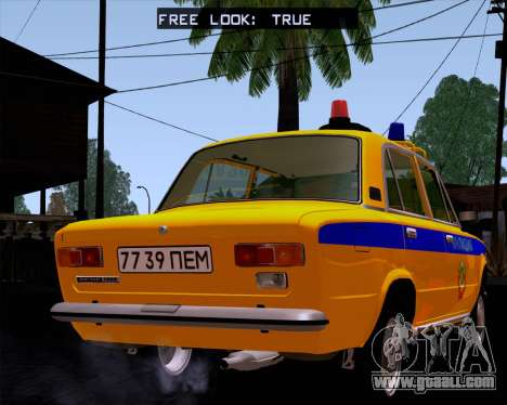 VAZ 21011 Police for GTA San Andreas left view