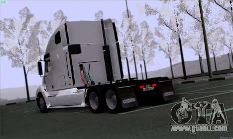 Freightliner Columbia for GTA San Andreas right view