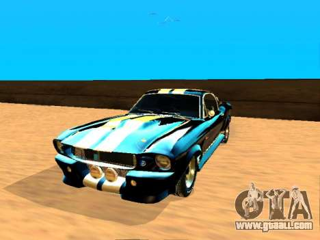Ford Shelby GT-500E Eleanor for GTA San Andreas