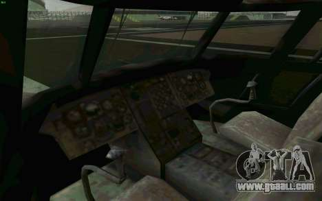 MH-47 for GTA San Andreas inner view
