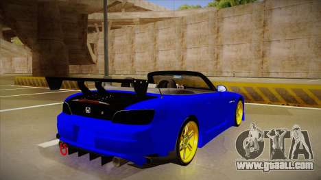 Honda S2000 C-West for GTA San Andreas right view