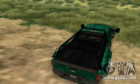 Chevrolet Silverado 3500 Military for GTA San Andreas right view