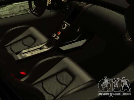 McLaren MP4-12C WheelsAndMore for GTA San Andreas interior