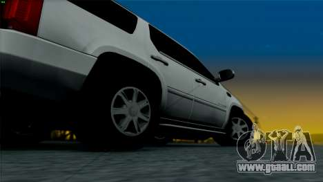 Cadillac Escalade for GTA San Andreas back view