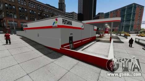 Pertamina GAS STATION for GTA 4 third screenshot