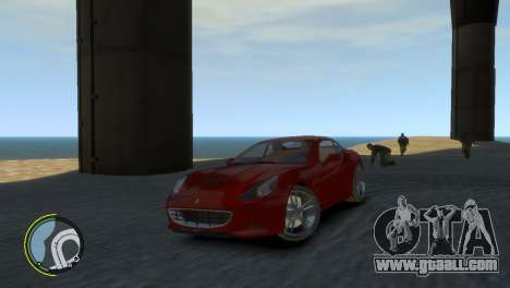 Ferrari California [EPM] for GTA 4 back view