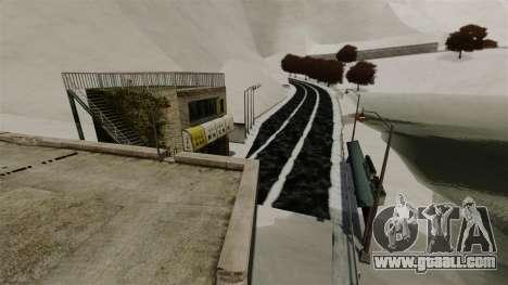 Snowy location Sakina for GTA 4 second screenshot