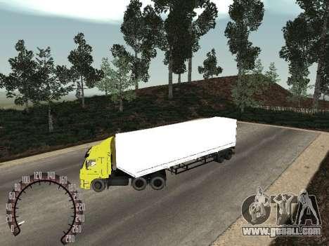 Nefaz 93344 snow trailer for GTA San Andreas
