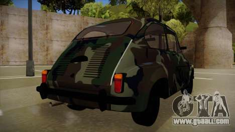 Zastava 750 Camo for GTA San Andreas back view