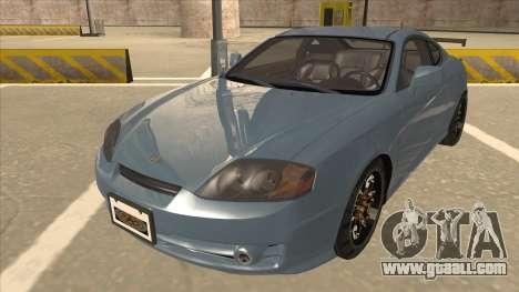 Hyundai Coupe V6 Soft Tuned v1 for GTA San Andreas