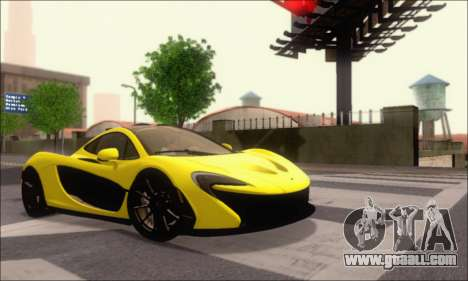 McLaren P1 EPM for GTA San Andreas